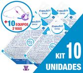 Imagem de KIT C/10 UNIDADES FRESUBIN ENERGY 1000ML + 10 EQUIPOS DUPLA VIA