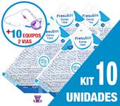 Imagem de KIT C/10 UNIDADES FRESUBIN ENERGY FIBRE 1000ML + 10 EQUIPOS DUPLA VIA