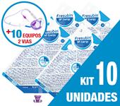 Imagem de KIT C/10 UNIDADES FRESUBIN HP ENERGY 1000ML + 10 EQUIPOS DUPLA VIA