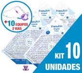 Imagem de KIT C/10 UNIDADES FRESUBIN ORIGINAL FIBRE 1000ML + 10 EQUIPOS DUPLA VIA