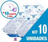 Imagem de KIT C/10 UNIDADES FRESUBIN SOYA FIBRE 1000ML + 10 EQUIPOS DUPLA VIA