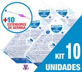 Imagem de KIT C/10 UNIDADES FRESUBIN 1.2 HP FIBRE 1000ML + 10 EXTENSORES DE SERINGA