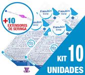 Imagem de KIT C/10 UNIDADES FRESUBIN ENERGY 1000ML + 10 EXTENSORES DE SERINGA