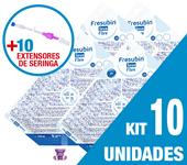 Imagem de KIT C/10 UNIDADES FRESUBIN SOYA FIBRE 1000ML + 10 EXTENSORES DE SERINGA