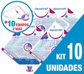Imagem de KIT C/10 UNIDADES RECONVAN 500ML + 10 EQUIPOS DUPLA VIA