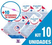 Imagem de KIT C/10 UNIDADES LIPID 500ML + 10 EXTENSORES DE SERINGA